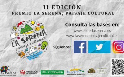 """Se abre el plazo para la presentación de candidaturas al II Premio """"La Serena, Paisaje Cultural"""", al mérito comarcal"""